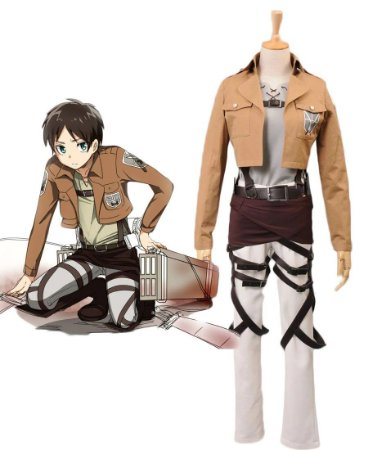 COSPLAY EREN JEAGER SHINGEKI NO KYOJIN ATTACK ON TITAN