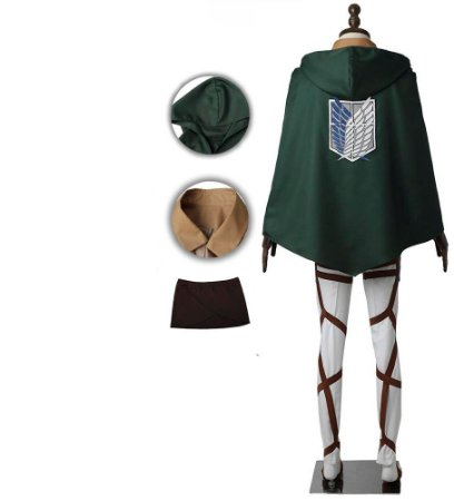COSPLAY EREN JEAGER SHINGEKI NO KYOJIN ATTACK ON TITAN COMPLETO