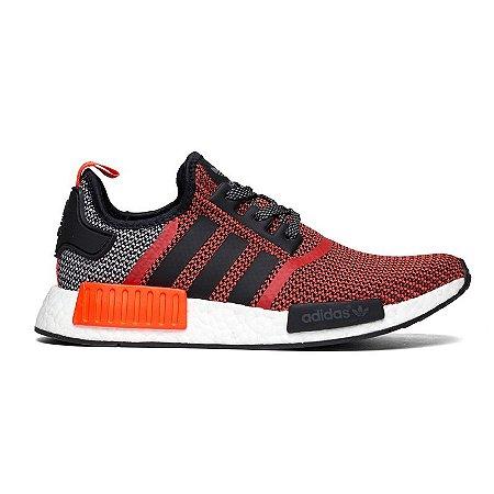 afa22b3ff4a Tênis Adidas NMD R1 - Vermelho   Cinza
