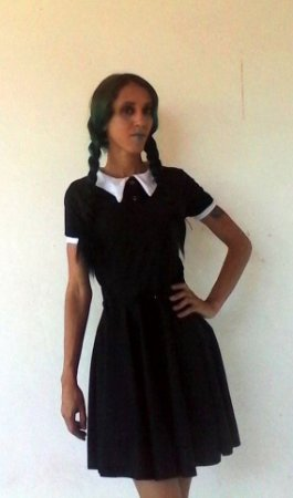 Vestido Dark Wednesday