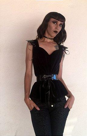 Blusa Dama Morcego