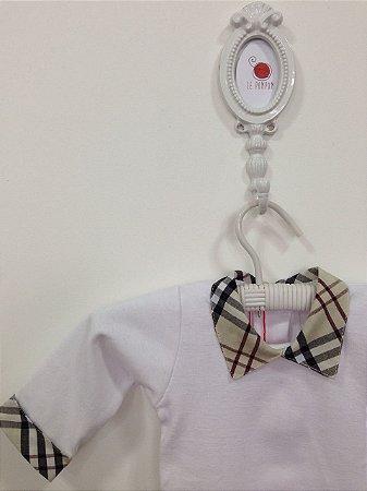 Body Polo xadrez - Tamanho RN