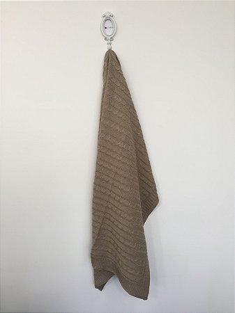 Manta trançada de tricot  - rolex