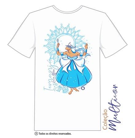 Camiseta Iemanjá com Espelho Multicor