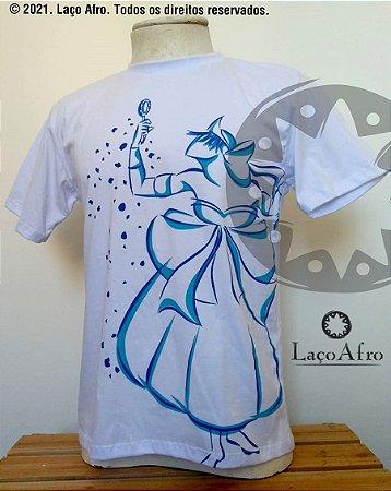 Iemanjá - Camiseta Laço Afro