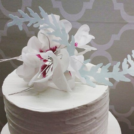 Curso on-line topo de bolo bouquet com papel de arroz