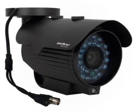 Camera Infra Intelbras Vm 3130 Ir Lente 3,6mm 30 Metros - Preto