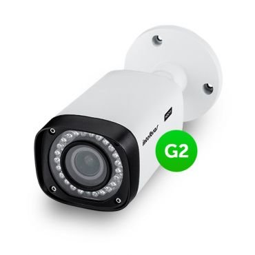 Camera Hdcvi Intelbras Vhd 5040 VF Lente Varifocal Full Hd 2ªGer