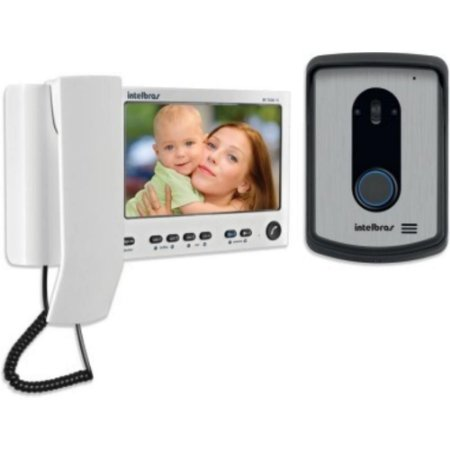 Video Porteiro Intelbras Color Iv 7010 Hs