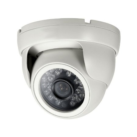 Câmera De Segurança Ir 118 Metal 2ª Geração - Lente 2,8 mm Infravermelho 800 Linhas