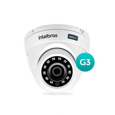Camera Intelbras HDCVI Multi HD Vhd 3120D Lente 2.8 Mm 20 Metros 3ª Geração