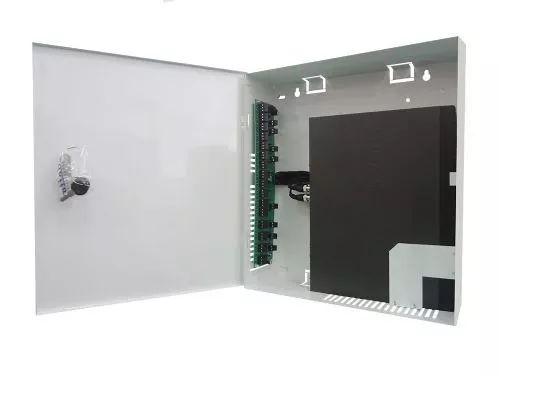 Rack Max Eletron 4 Canais Vertical Mini Fine Hd Híbrido