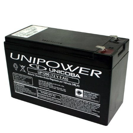 Bateria Unipower Selada 12 Volts 9Ah Recarregável