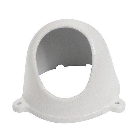 Proteção Para Câmeras Dome Alumínio Fundido Branca