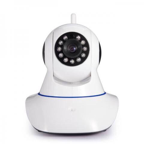 Câmera IP Sem Fio Wifi HD Com Slot Cartão SD HB Tech