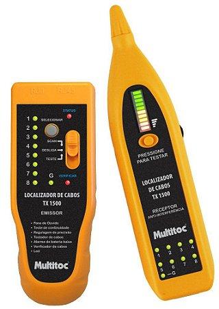 Kit Localizador Identificador De Cabos Tx1500 Multitoc