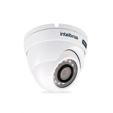 Camera HDCVI Intelbras Multi HD Vhd 3120D Lente 2.8 Mm 20 Metros 3ª Geração