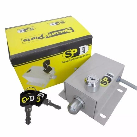 Trava Elétrica  Portão Eletrônico  Sp-lock 127v