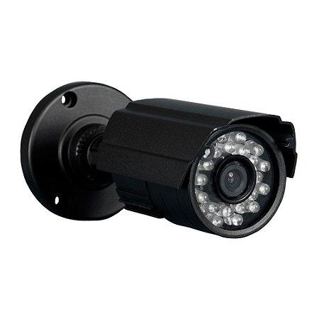 Câmera Analógica Bullet 1200 Linhas 20 Mts 3.6mm