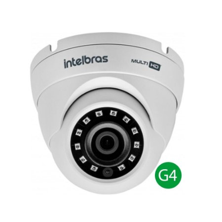Camera HDCVI Intelbras Multi HD Vhd 3120D Lente 2.6mm 20 Metros 4ª Geração