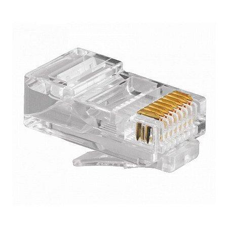Conector Jack Rj-45 8x8 Fcs Cat 6