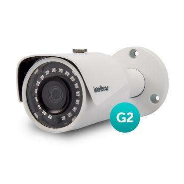 Câmera IP Intelbras VIP S 3330 G2 3 Megapixel 3,6mm com WDR e IR Smart