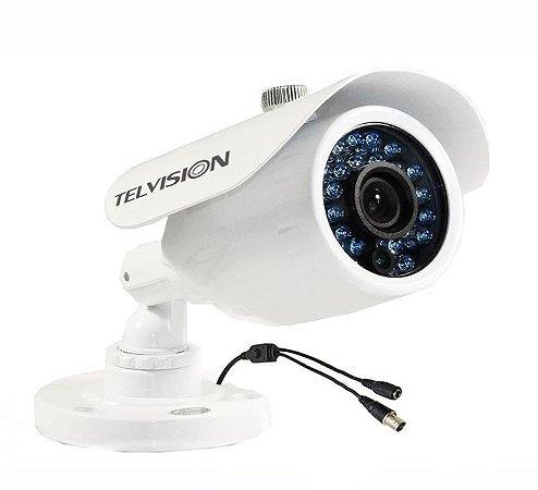 Câmera de Segurança Ir117 com Wdr 600 Linhas 30 Metros Ccd