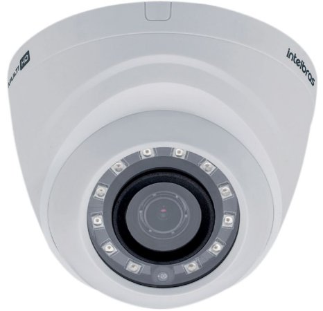 Câmera Intelbras Mult HD 1220D Full HD 2.8mm 20 Metros 4ª Geração