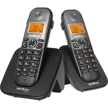Telefone Sem Fio Intelbras Viva Voz Ts 5122 c/ Ramal