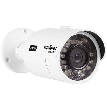 Câmera HDCVI Infravermelho VHD 3130 B - Intelbras 1 Megapixel 30 Metros Lente 6mm