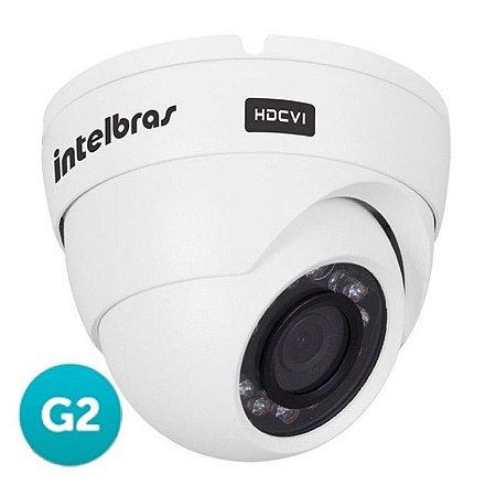 Câmera Hdcvi Intelbras Vhd 3120D 1 Megapixel 20 Mts Lente 2,8mm 2ª Geração