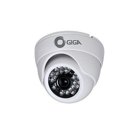 Câmera Infravermelho Giga GS 7025 Edb 760 Linhas 24 Leds Lente 3,6mm Ccd 1/3