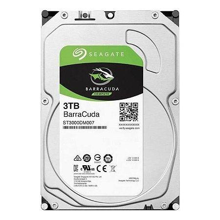 HD - Disco Rígido Interno 3 Terabyte