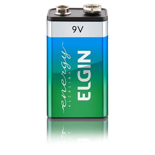 Bateria Elgin 9V 250 Mah Elgin