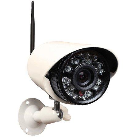 Câmera de Segurança IP Wifi Bullet 1MP 30 Metros 36 Leds