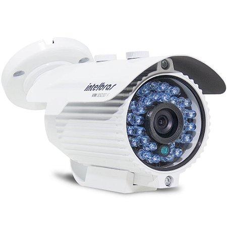 Câmera de Segurança Intelbras Vm S3130 IR -  Lente 3,6mm 960 Linhas 30 Metros Branca