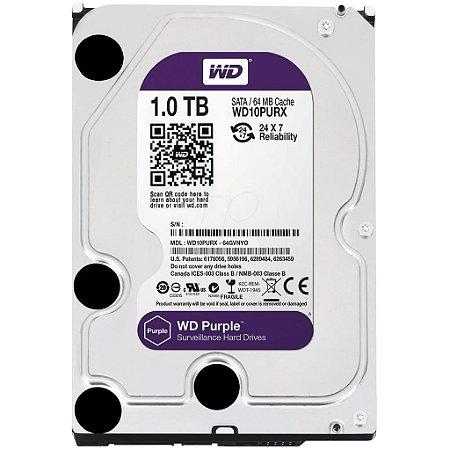 HD - Disco Rígido Interno 1 Terabyte Western Digital Purple
