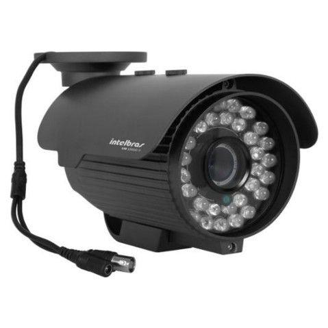 Câmera Intelbras Vm 325 IR - CFTV 25 mt 30 leds 420 linhas