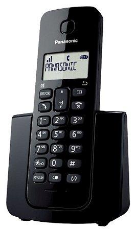 Telefone Sem Fio Panasonic Com ID KX TGB110 LB