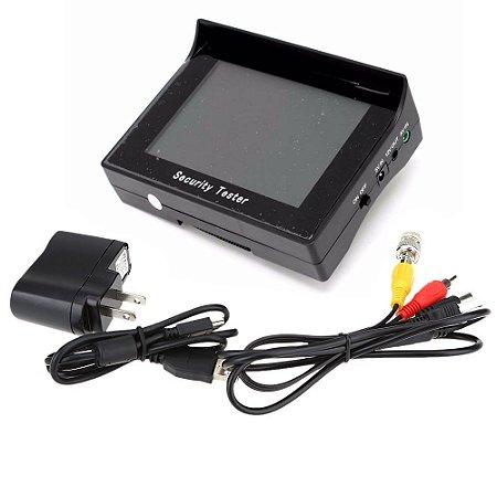 Monitor Para Teste de Câmeras Cftv