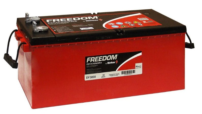 Bateria Estacionária Freedom DF 3000 - 12v 185ah