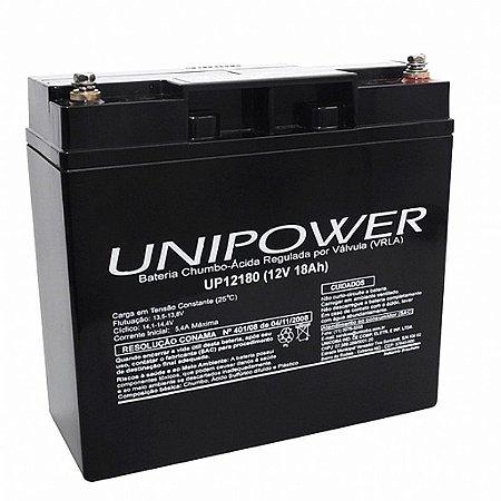 Bateria Recarregável Unipower Up12180 12v 18AH
