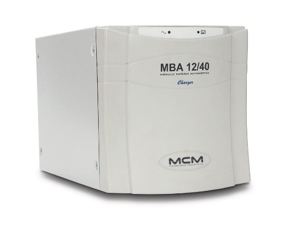 Modulo De Bateria Auxiliar Mcm Mba 12/40