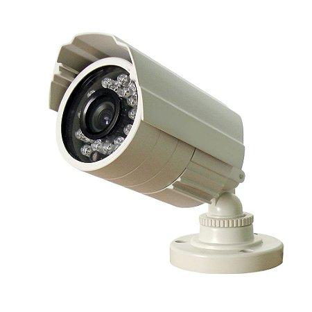 Câmera de Segurança Ir107 Ccd Sony 420 Linhas 20 Metros