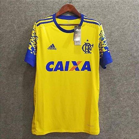 Camisa Flamengo III 17 18 - AG IMPORTS 09fde5ead6551