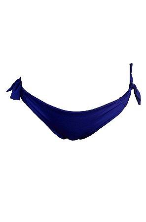 Calcinha Biquíni Fio Duplo Kymacta Surf Azul Marinho