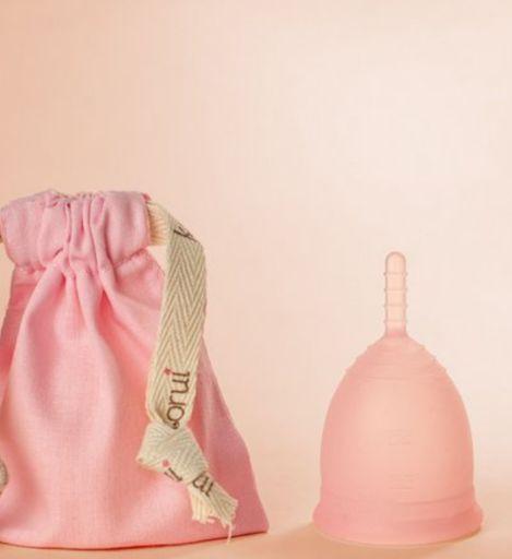 Coletor Menstrual Korui - Flor de Cerejeira - Intenso