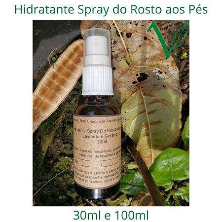 Hidratante Spray do Rosto aos Pés