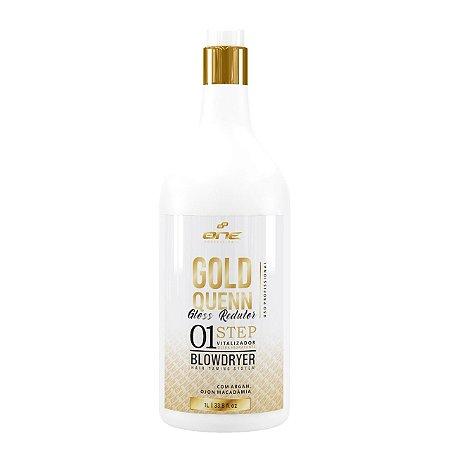 One Gold Quenn  redutor de volume ( Zero Formol ) 1lt