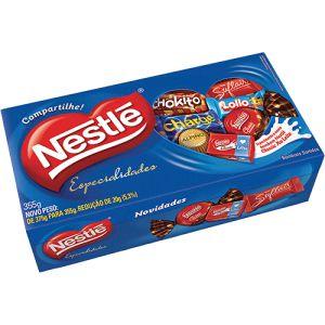 Caixa Bombons Especialidades Nestlé 375g